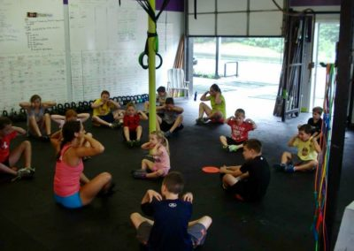 Crossfit Kids Stretching
